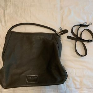 Marc by Marc Jacobs Leather Hobo with Strap